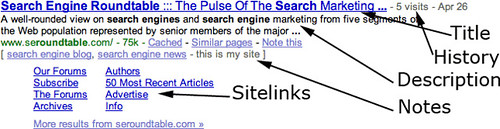 google snippet