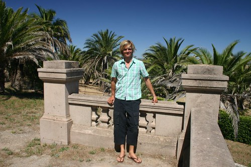 Me at The Seppelts Mausoleum, Barossa Valley.