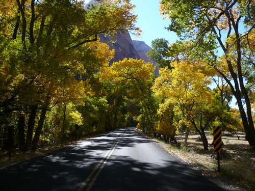 Carretera en Utah