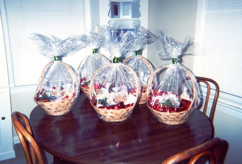 Baskets I Made For Chistmas 2003