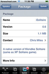 iSolitaire Update 0.6