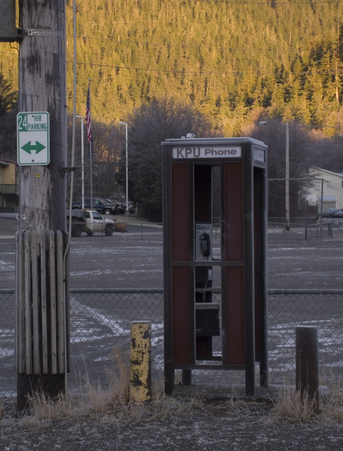 phone booth and 24 hour parking