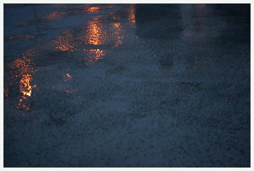 rainy floor