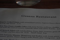 greens restaurant, sf