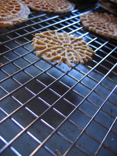 Pizzelle Shadows