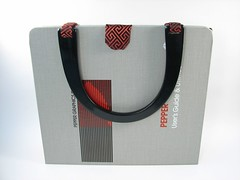 vintage software book handbag
