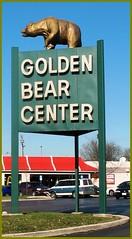 Golden Bear Center (TheeErin) Tags: columbus ohio typography font oh goldenbear sinage upperarlington franklinton