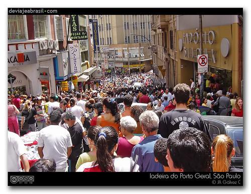 Fotos de Brasil: rua 25 de Março, São Paulo