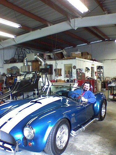 Dave in the Cobra