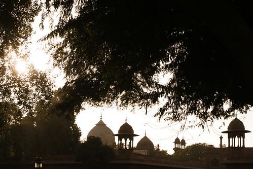 roofs near Taj