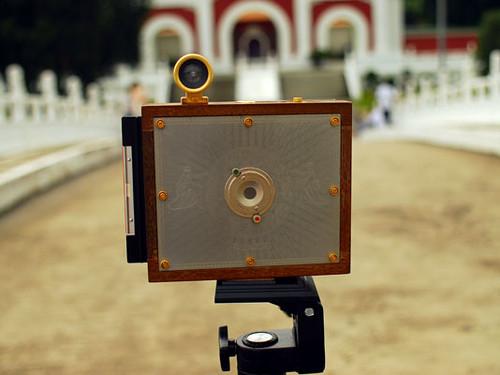 how to create larger image pinhole camera