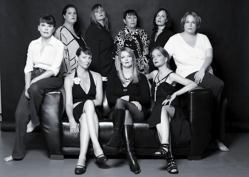 '13 Schwestern'. Die Regionalgruppe Berlin der 'Mörderischen Schwestern'.