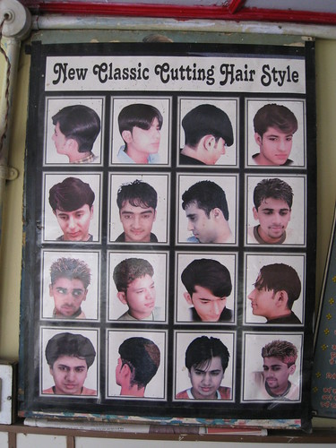 India - The Classic Cutting Hair Style