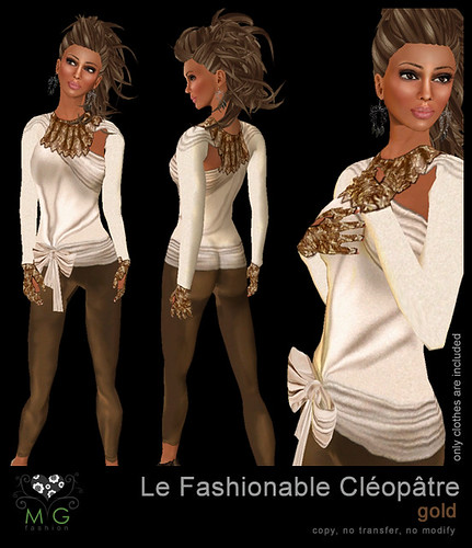 [MG fashion] Le Fashionable Cléopâtre (gold)