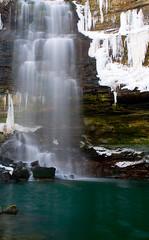 02 15 08 Chedoke Falls 2 (Phil Armishaw) Tags: winter copyright fall ice water frozen waterfall phil hamilton waterfalls armishaw