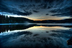 Gemm'y (T1ger) Tags: sunset reflection norway nikon trondheim hdr naturesfinest blueribbonwinner abigfave anawesomeshot