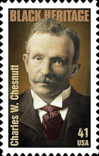 Charles Waddell Chesnutt , Author, Essayist and Political Activist, Lawyer