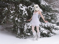 redandjonny: Snow Angel (RedandJonny) Tags: winter snow ontario canada angel starwars stormtrooper caledonia redandjonny stormtroopersinlove stormtroopergirl