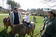 Egg Hunt - Riding a Pony