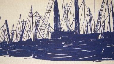 Marushka: ships (blue)