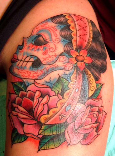 day o dead gypsy girl. done at the 07 pittsburgh metting of the Marked