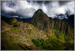 Another angle (Kaj Bjurman) Tags: sky mountains peru grass machu picchu inca clouds buildings photo raw picture inka 2008 hdr kaj cs3 blueribbonwinner photomatix eos40d bjurman