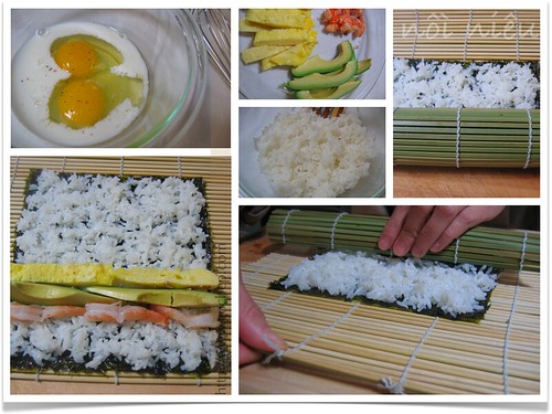 Makizushi method