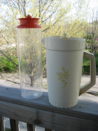 Tupperware Canister & Pitcher