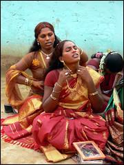 make -up (balaphoto) Tags: transgender transvestite villupuram aravani koovagam balaphoto marakkanambala