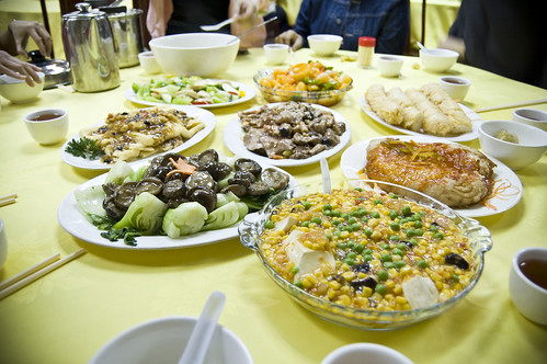 Sumptuous Vegetarian Lunch at Po Lin Monastery