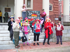 The Raging Grannies (dannrayv) Tags: church society unitarian raginggrannies northamptonma