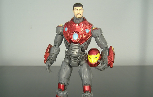 Ultimate Iron Man - no helmet