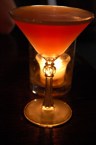The 177 Martini (raspberry liqueur, vodka, grenadine, sour mix)