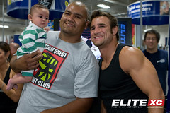 Phil Baroni with Fans
