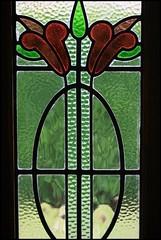 window (*Melody*) Tags: door red green window glass stainedglass photofaceoffwinner pfogold