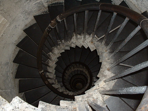 Spiral from the top of the Monument
