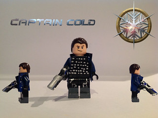 Custom Lego Legends of tomorrow Captain Cold