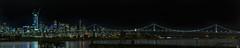 bar channel skyline (pbo31) Tags: bayarea california night dark color nikon d810 boury pbo31 february 2017 winter northerncalifornia eastbay alamedacounty black panoramic large stitched panorama sanfrancisco skyline city bay water bridge baybridge 80 alameda island reflection salesforce construction