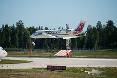Rusline - VQ-BNL - CRJ 100ER (Aviation & Maritime) Tags: vqbnl rusline canadairregionaljet crj crj100er canadaircl6002b19regionaljetcrj100er osl engm osloairportgardermoen oslolufthavngardermoen osloairport gardermoen norway