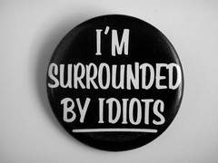 1983 I´m Surrounded By Idiots Pin