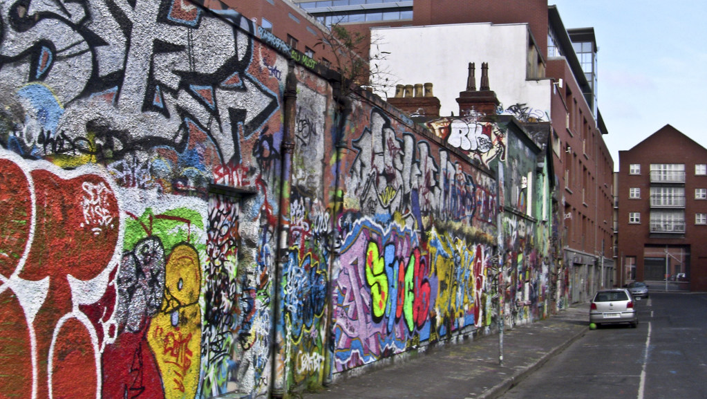 Dublin Street Art [Windmill Lane, a small street just south of City Quay]