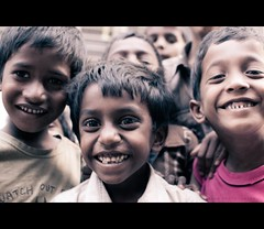 Smiles from Slum (thefotobaba) Tags: people smile kids happykids slums banglore smilingkids streetphotosbangalore bagalorestreet kidsfromslums banglaloreslums
