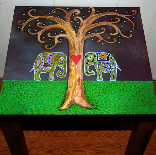 Meeting Tree by Rick Cheadle Art and Designs
