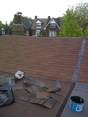 Ridge Vent | Re- Roof - Mr Roof Repair (MrRoofRepair.ca) Tags: toronto vent etobicoke mississauga gta oakville roofing flatroof roofrepair reroof ridgevent hipridge roofingpictures roofcontractor mrroofrepair shinglerepair torontoroofer shinglereplace