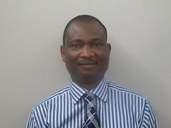 Men's Ministry Leader Akeen Oluremi