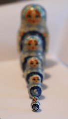Matryoshka doll from Ukraine
