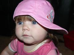 10-26-07 Emily's new hat 3