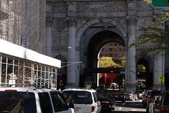 Durchfahrt Cityhall NY