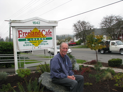 Jim Freeman in Freeland