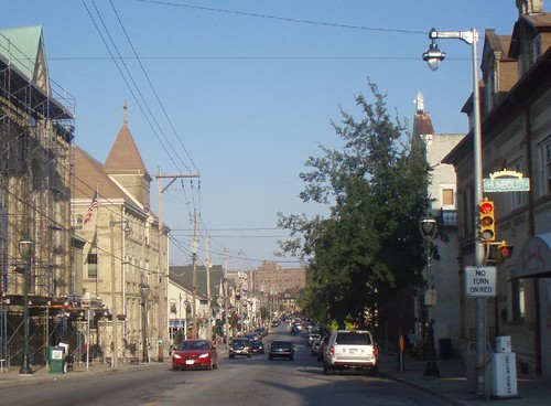 Brady Street, looking east from Humboldt